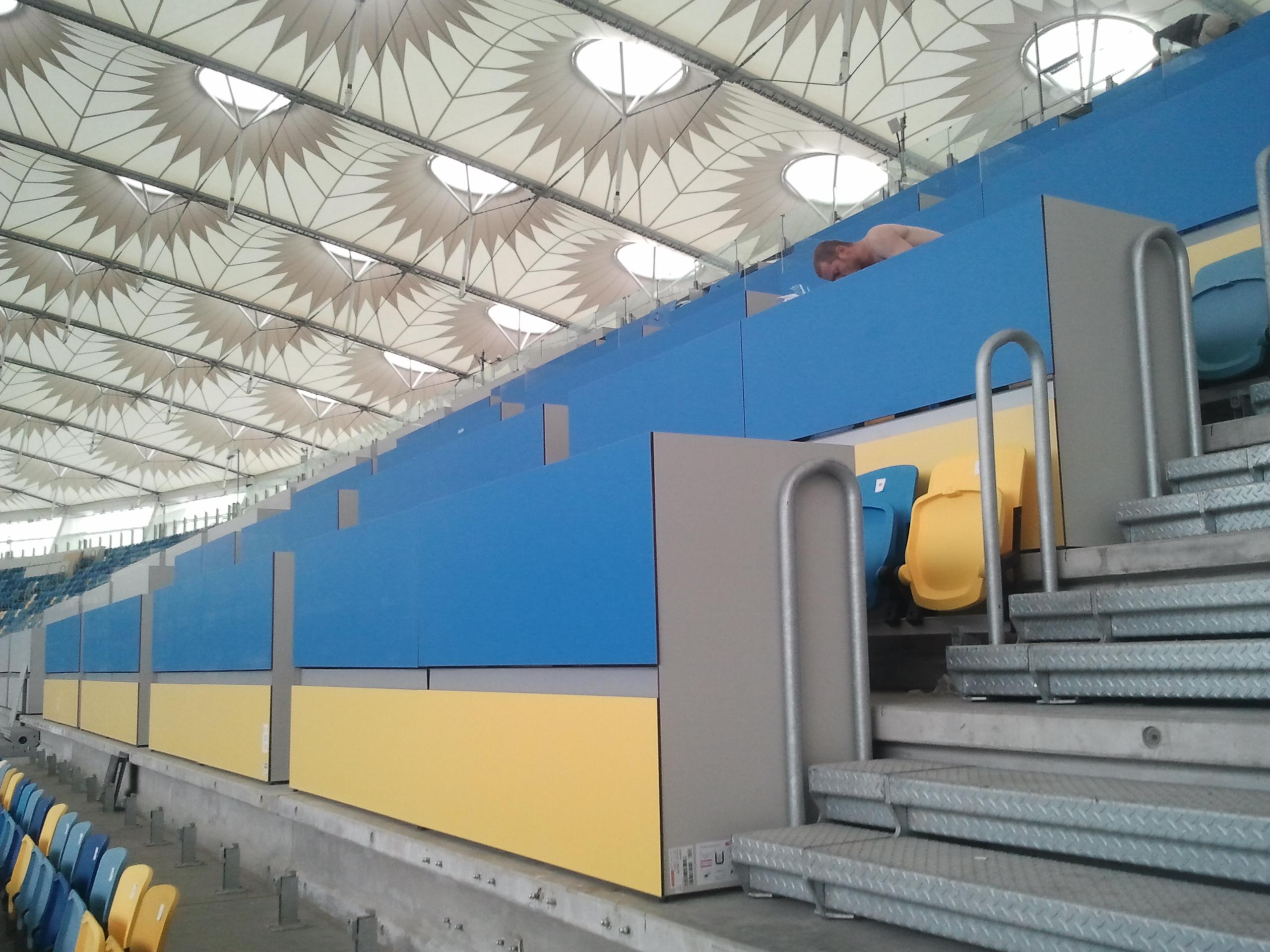 Столы НСК Олимпийский, fundermax