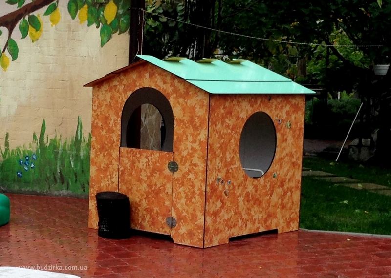 Детская площадка, fundermax