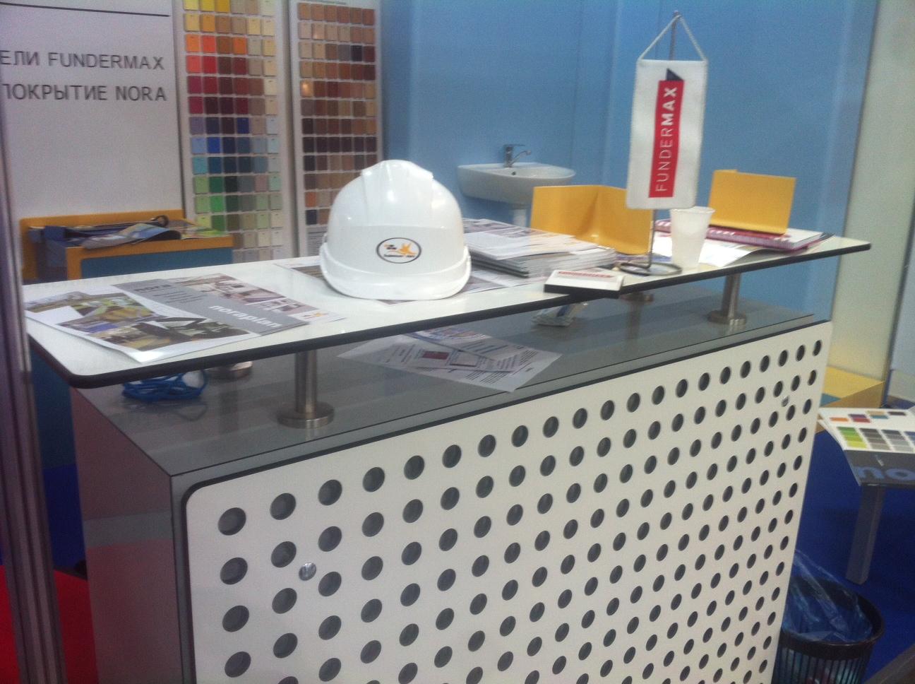 Fundermax выставка LabCoplex 2012