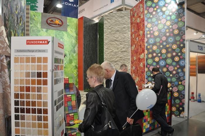 Fundermax мебельная выставка 2012