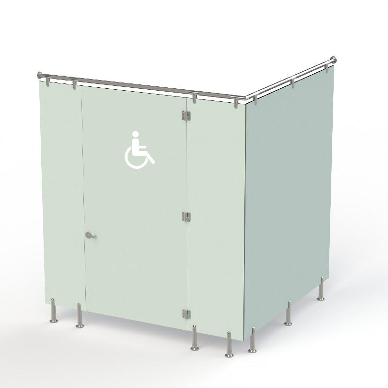 Сантехнічні кабіни Fundermax Max Inclusive