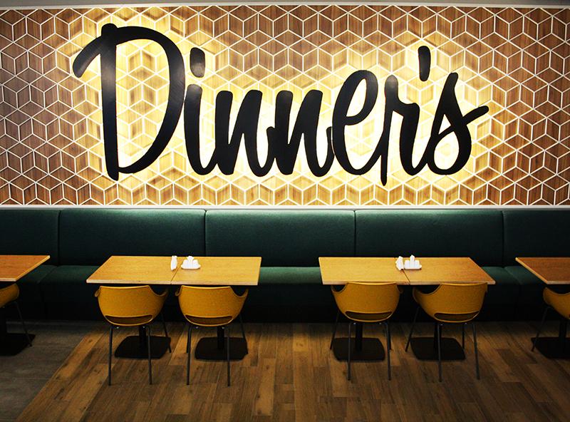 ресторан Dinners из Fundermax