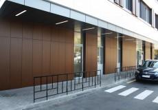 Клиника Добробут – фасад из HPL Fundermax
