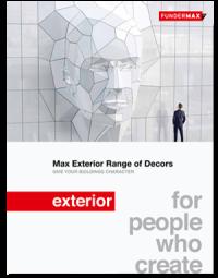 FunderMax exterior коллекция декоров