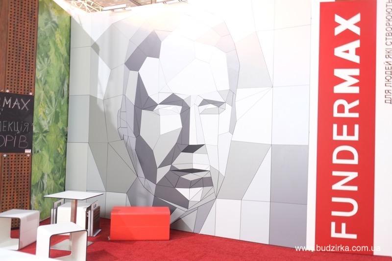 Стенд FunderMax на выставке Inter Bud Expo 2015