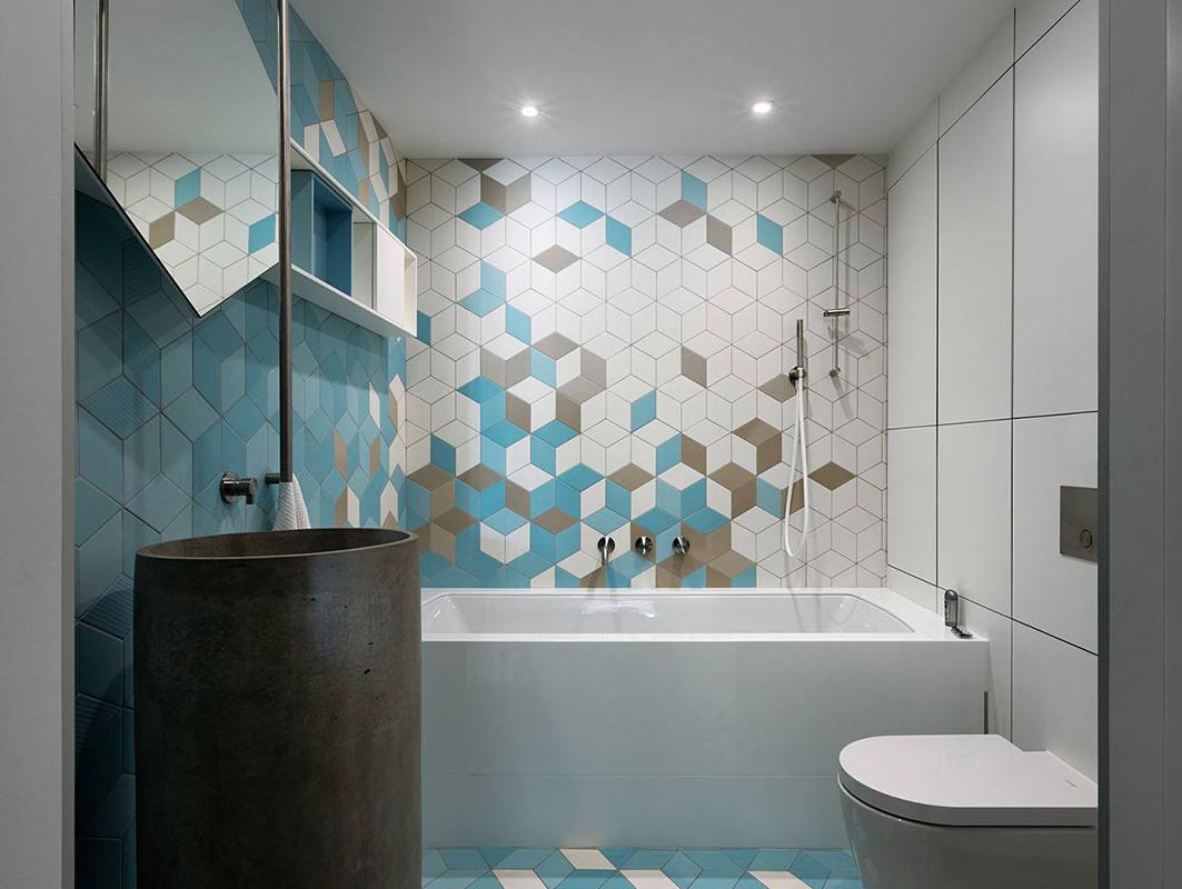 Применение hpl панелей FunderMax в ванной комнате