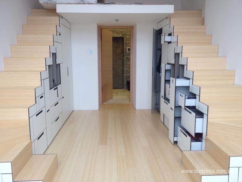 Шкафы и кухня из hpl панелей FunderMax