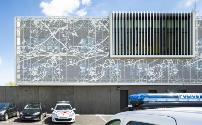 Полицейский участок в Ле Мюро, Франция