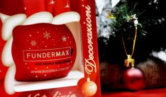 С Новым Годом и Рождеством Христовым! FunderMax