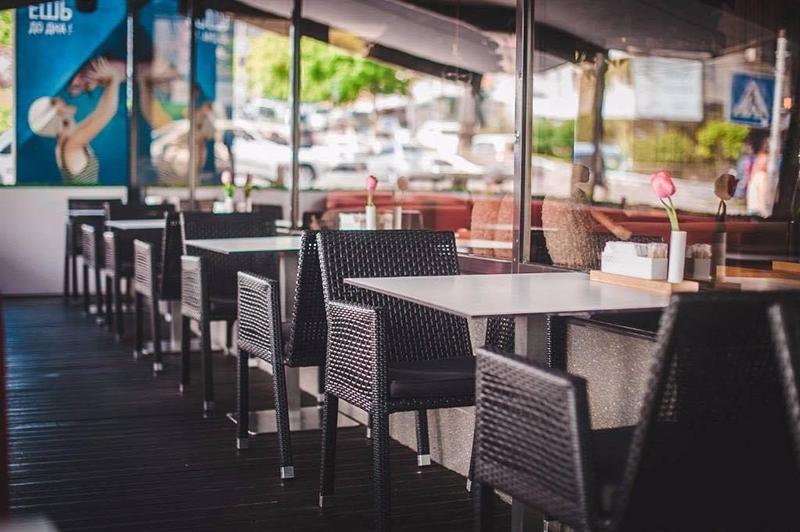 ресторан Одесса столешницы hpl fundermax